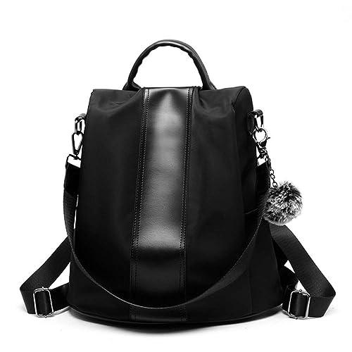 a9399f8f85bb Anomcry Women Backpack Purse Waterproof Nylon Schoolbags Covertible Designer  Ladies Lightweight Fashion Travel Bag  Amazon.ca  Shoes   Handbags