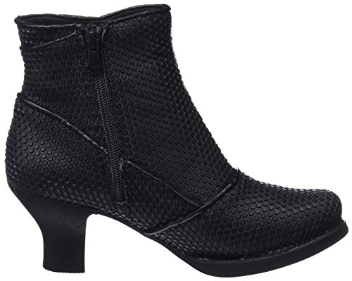 Art Boots Grey Black Ankle Engomado Women's Black zqrzF