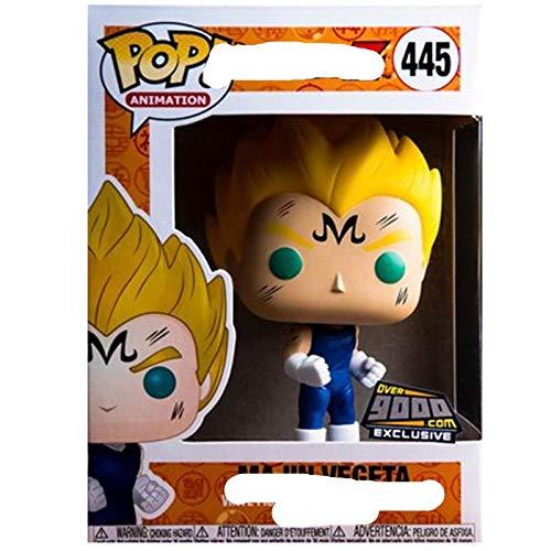 Nobranded Funko Pop japonais Anime Dragon Ball Majin vegeta # 445 vinyle Figurine Collection modèle jouets pour Enfants Cadeau d Anniversaire