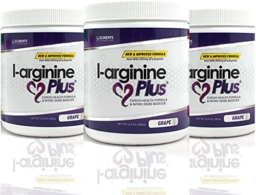 L-arginine Plus – The Most Effective L-arginine Product on the Market with 5110mg L-arginine 1010mg L-citrulline – Buy 3 and SAVE Net Wt 13.4OZ