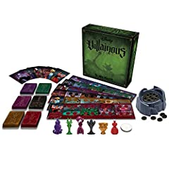 In this epic contest of sinister power, take on the role of a Disney villain and strive to achieve your own devious objective. Discover your character's unique abilities and winning strategy while dealing twists of fate to thwart your opponen...