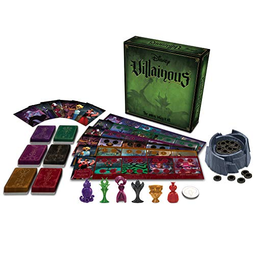 Ravensburger Disney Villainous Strategy Board Game for Age 10 and Up - 2019 TOTY Game of the Year Award Winner -