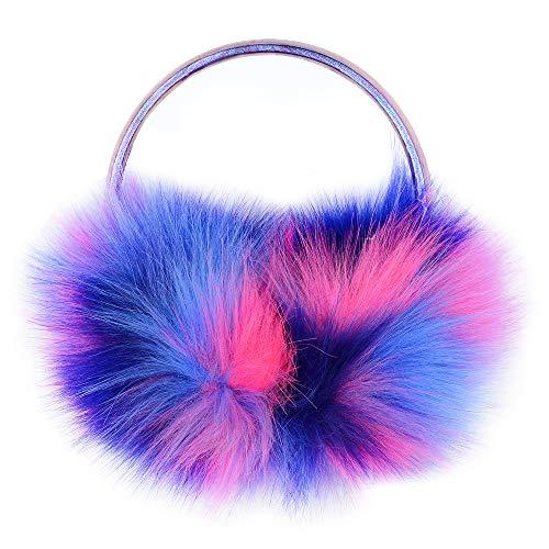 NWK Ear Muff Earmuff Ear Warmer for Women Girl 2019 Winter Adjustable Faux Fur (Kids Girls Ear Muffs)