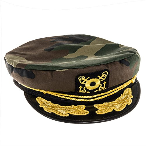 [Dorfman Pacific Captains Hat - Yacht Hat for Everyday Wear, Boating or Costume Accessory] (Ship Captain Costumes)
