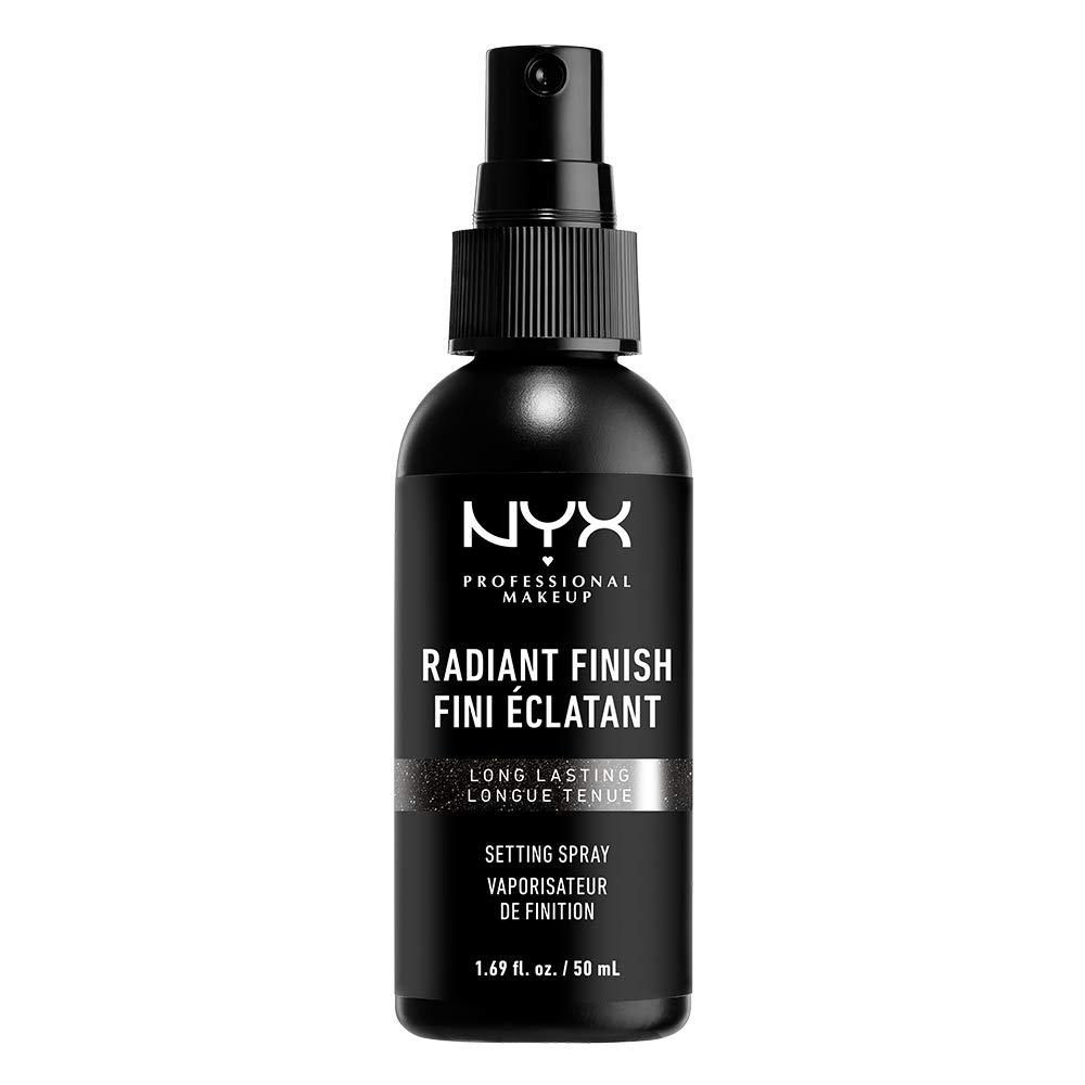 NYX PROFESSIONAL MAKEUP Makeup Setting Spray, Radiant Finish, 1.69 Fl Oz (Pack of 1)