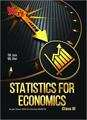 Buy Statistics For Economics Class 11 - CBSE - 2018 Book Online at
