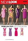 New Look Sewing Pattern 6002 Misses' Design Your Look Dresses, Size A (8-10-12-14-16-18)