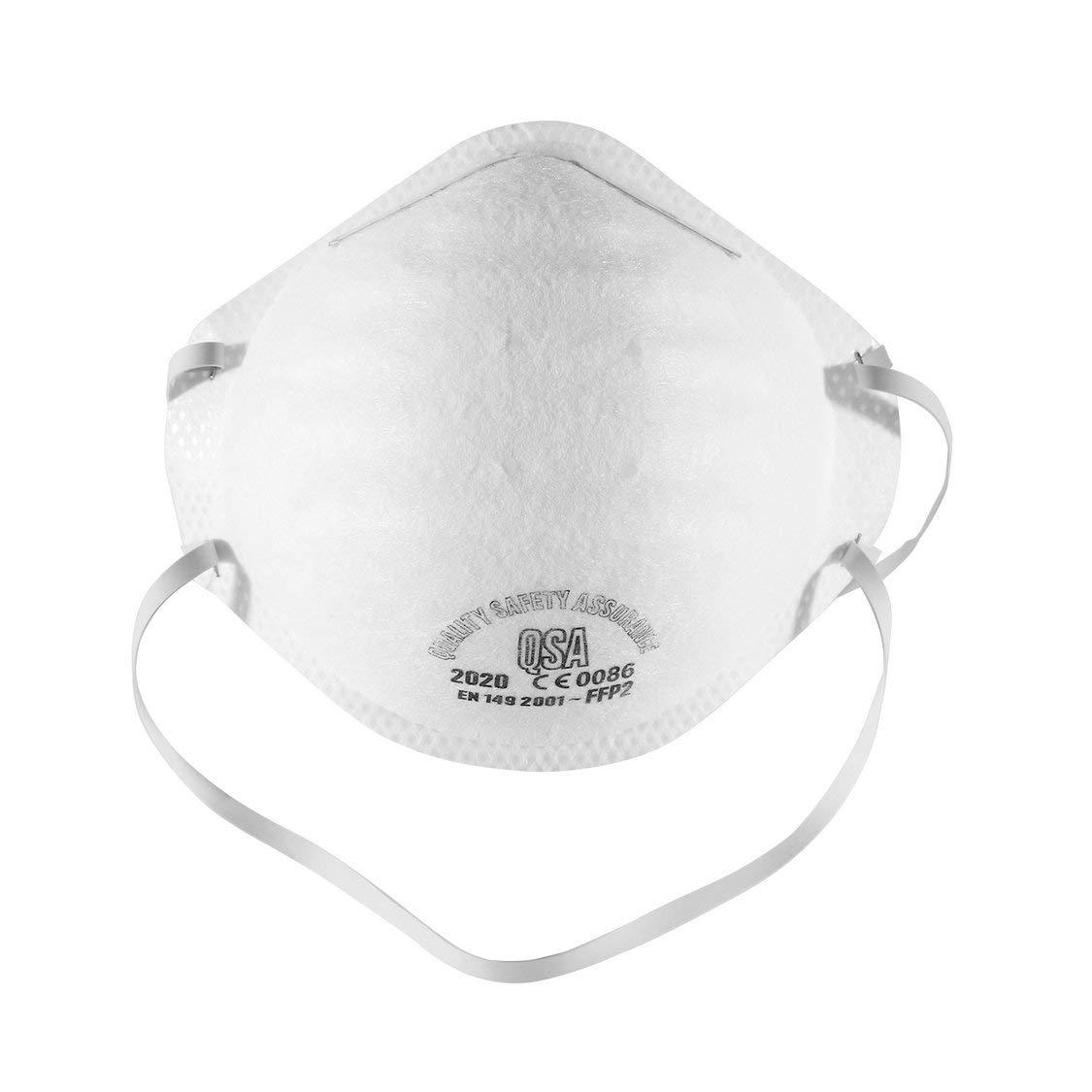 Máscara antipolución N95, con válvula de Capas Filtro FFP2 98% Bacterias Anti PM2.5 Neumonía Protección contra la Gripe Máscara de polución contra el P