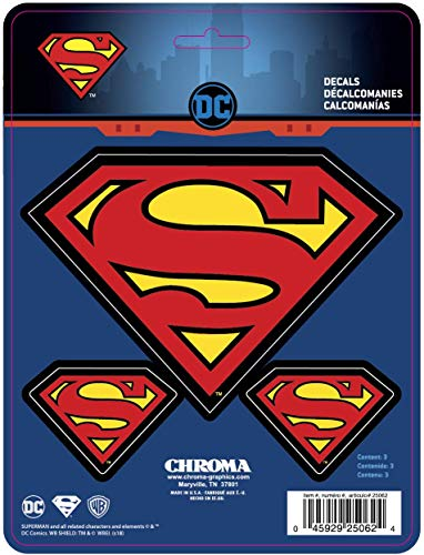 CHROMA 025062 Superman Logo Decal