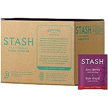 Stash Tea Acai Berry Herbal Tea, 100 Count Box of Tea Bags in Foil (packaging may vary)