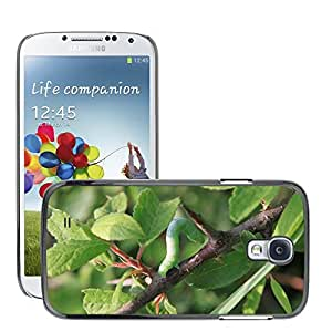 Just Phone Cover Etui Housse Coque de Protection Cover Rigide pour // M00139190 Hoja de Caterpillar Hierba Pequeño // Samsung Galaxy S4 S IV SIV i9500