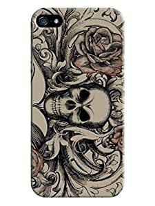 iphone 5/5s Design Just Do It Colorful fashion skull Best Rubber Cover Case LarryToliver #6