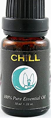 Stress Relief Essential Oil Blend, Anxiety Relief, Insomnia Relief, Spa & Relaxation Oil, Chill Essential Oil Blend. 100% Pure. Yang Ylang, Lavender, Bergamot, Orange, Geranium and Clary Sage.