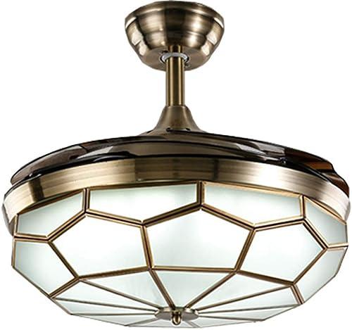 Orillon 6-Gear Speed Chandelier Ceiling Fan Light
