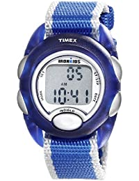 Kids' T7B9829J IronKids Translucent Blue Sport Watch