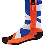 Fox Racing Creo Youth Boys MX Motorcycle Socks - Orange / Medium
