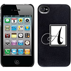 Classy A design on Black iphone 6 plus 5.5 Thinshield Snap-On Case