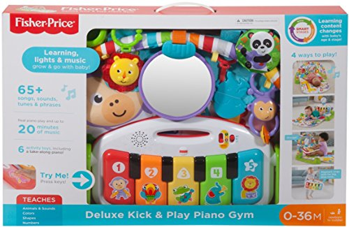 51Xi3viF6IL - Fisher-Price Deluxe Kick 'n Play Piano Gym