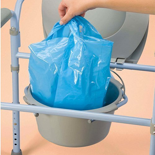 Carex Commode Liners P709 (Pack of 3) by Carex Health Brands (Image #1)
