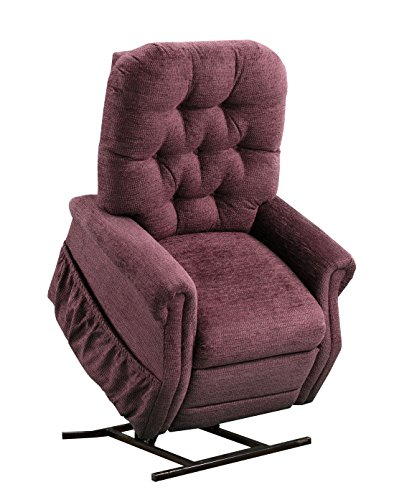 Medlift 2555-EW Encounter Two-Way Reclining Lift Chair, Wine
