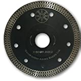 4.5 inch Diamond Grinder Cutting blade for Tiles and Stone (Black)