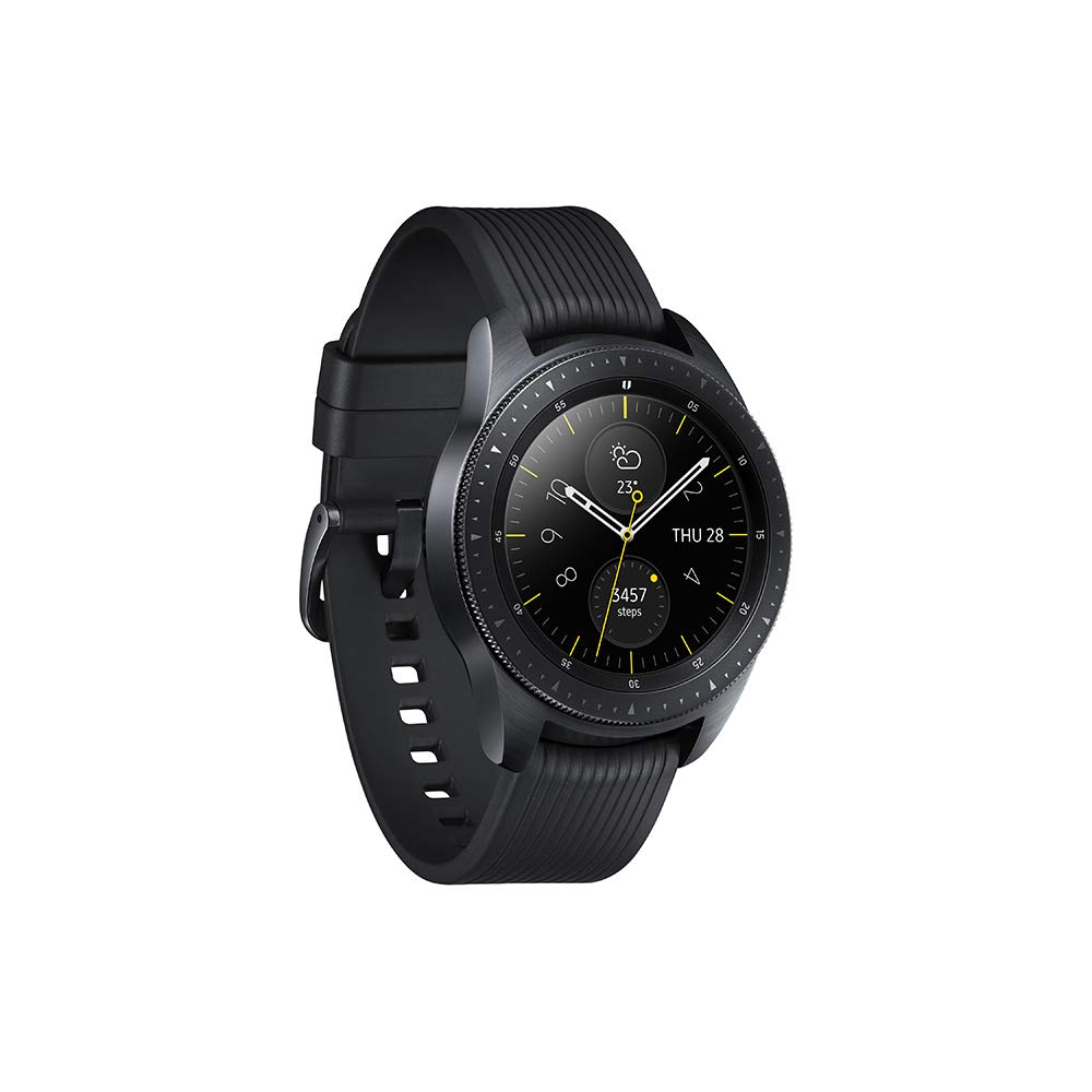 SAMSUNG Galaxy Watch Reloj Inteligente Negro SAMOLED 3,05 cm (1.2