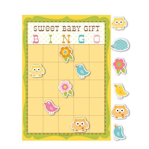 Creative Converting Baby Shower Happi Tree 10 Count Bingo
