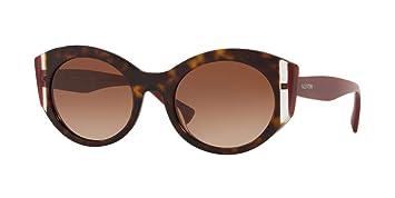 Gafas de Sol Valentino VA 4039 Havana/Brown Shaded Mujer
