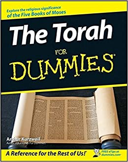 Book The Torah For Dummies by Arthur Kurzweil (2008-01-03)