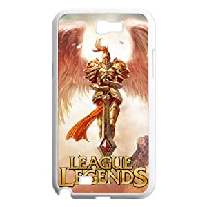 League Of Legends Samsung Galaxy N2 7100 Cell Phone Case White Delicate gift JIS_295789