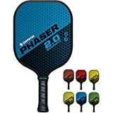 Gamma 2.0 Pickleball Paddles (Graphite Fiberglass Composite Face, Textured/Older Untextured Surface - Aramid Honeycomb Core, 7-8 oz)