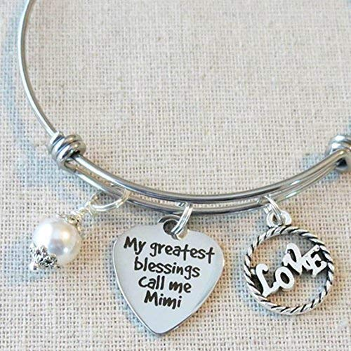 Bracelet Greatest Blessings Christmas Grandkids product image