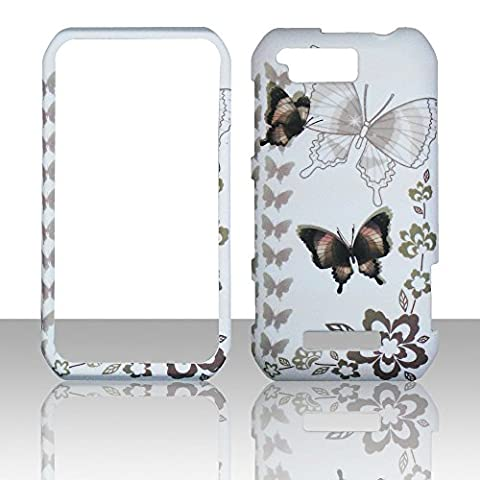 2D Black Butterfly Motorola Photon Q LTE XT897 Sprint Case Cover Phone Snap on Cover Case (Motorola Phone Q)