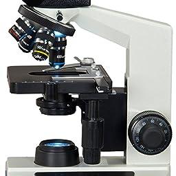 OMAX 40X-2500X Super Speed USB3 14MP Digital Compound Trinocular LED Lab Biological Microscope