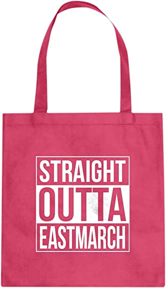 Indica Plateau Straight Outta Eastmarch Cotton Canvas Tote Bag