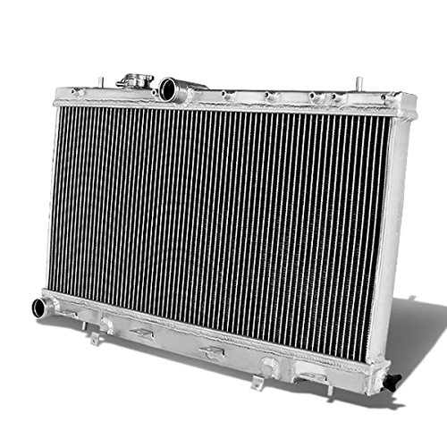 For Subaru Impreza WRX/STi Full Aluminum 2-Row Racing Radiator - GD GG EJ20 EJ25