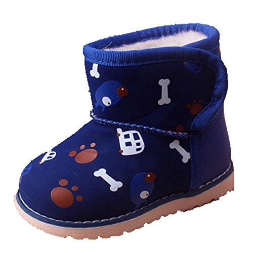 Ohmais Kinder Baby Jungen Baby Mädchen Baby Kleinkind Schuh weich blau Knochen