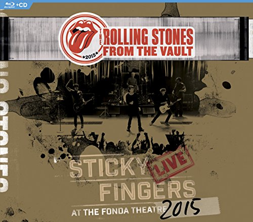 : From The Vault: Sticky Fingers Live at The Fonda Theatre 2015 (Blu-ray/CD)