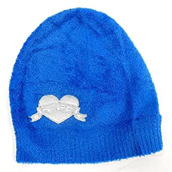 Amazon.com: Bebe Baby Fur Hat Cap with Heart Logo