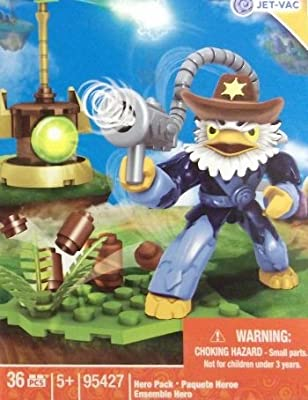 Mega Bloks Skylanders Air Jet-Vac with Cowboy Hat Building Kit