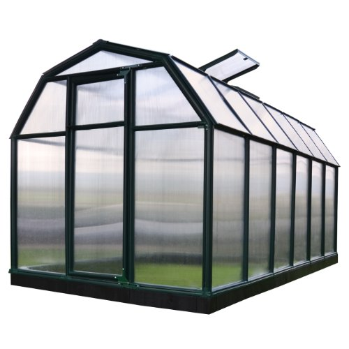Rion EcoGrow 2 Twin Wall Greenhouse, 6′ x 12′