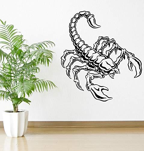 Lkfqjd Movible Escorpión Animal Insecto Depredadores Vinilo ...