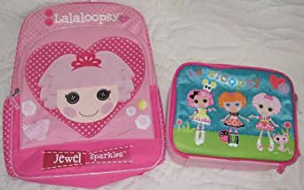 Lalaloopsy Jewel Sparkles Backpack and Lunch Box