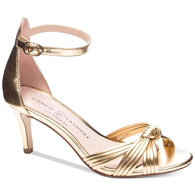 7a918be69247 Chinese Laundry Womens Robbie Open Toe Casual Ankle Strap Sandals   Amazon.co.uk  Shoes   Bags