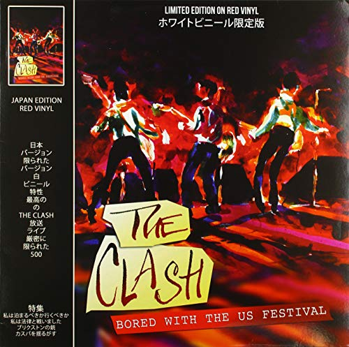 Album Art for Bored With The U.S. Festival (Red Vinyl) by CLASH