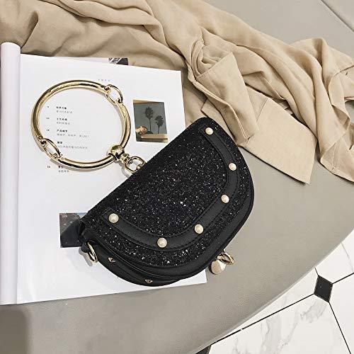 chaîne épaule bandoulière Fashion nbsp;Tide Sac à Noir WSLMHH q6XHxX