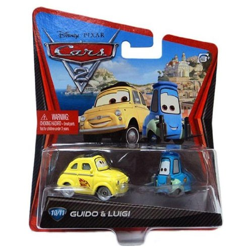 Disney / Pixar CARS 2 Movie 155 Die Cast Car #10 11 Guido Lu