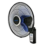 Hurricane 736565 fan, 16-Inch, Black