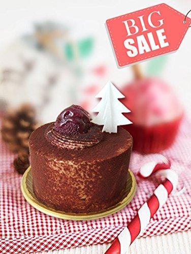 Edible pink Wafer Gluten GMO Dairy Sugar Nut Soy Free Christmas -