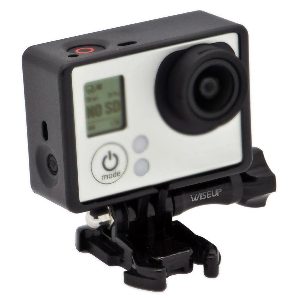 WISEUP Standard Border Frame Mount Housing with Mounting Base and Bolt Screw for GoPro Hero 4 3+ 3 Camera